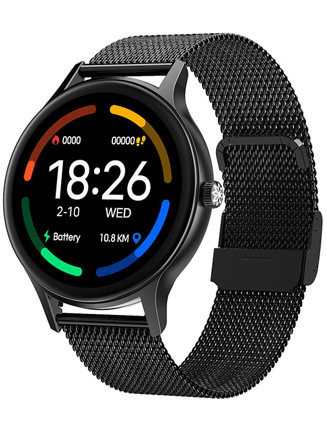 DT66 Unisex Smartwatch Bluetooth Heart Rate Monitor Blood Pressure Measurement Sports Calories Burned Health Care Stopwatch Pedometer Call Reminder Sleep Tracker Sedentary Reminder
