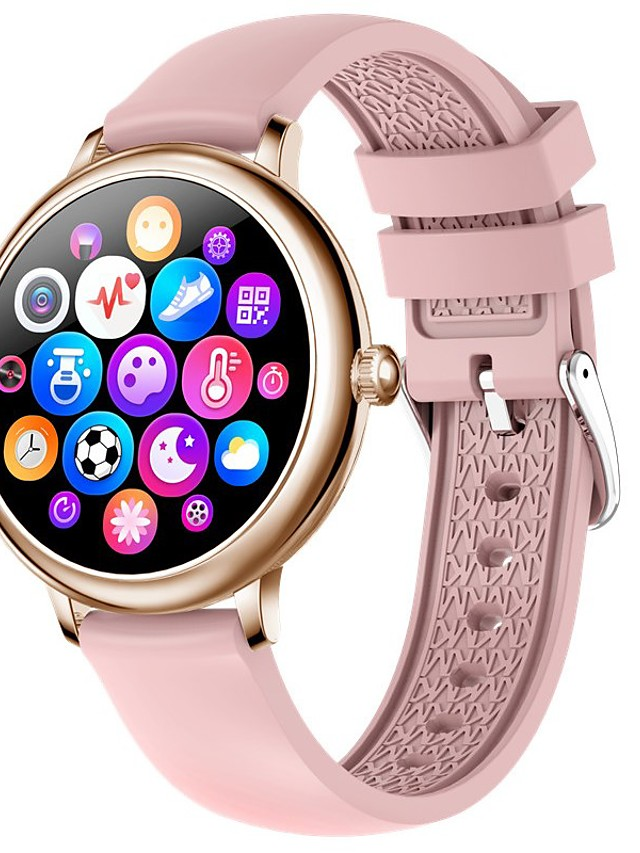CF80 Women's Smartwatch Bluetooth Heart Rate Monitor Blood Pressure Measurement Calories Burned Media Control Health Care Stopwatch Pedometer Call Reminder Activity Tracker Sleep Tracker