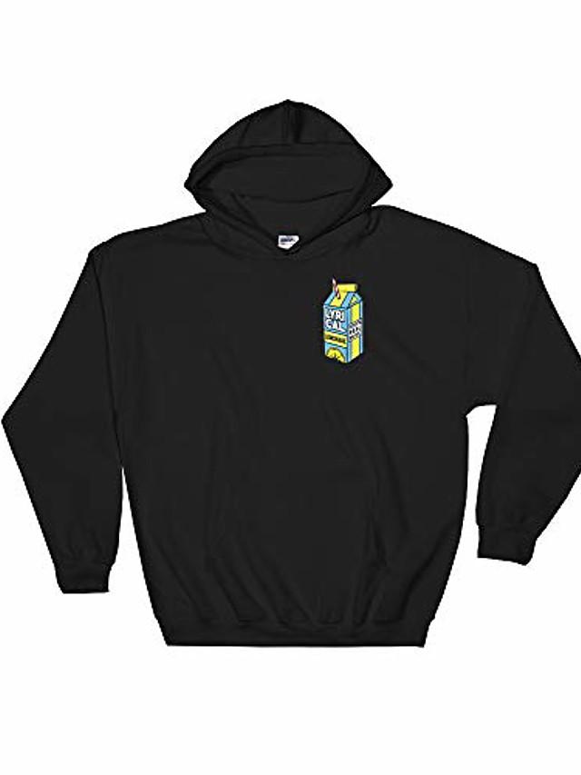 lyrical shirt lemonade, lyricallemonade merch hooded sweatshirt black