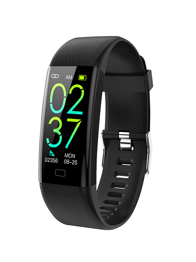 F07T Unisex Smartwatch Bluetooth Heart Rate Monitor Blood Pressure Measurement Calories Burned Thermometer Health Care Pedometer Call Reminder Sleep Tracker Sedentary Reminder Alarm Clock