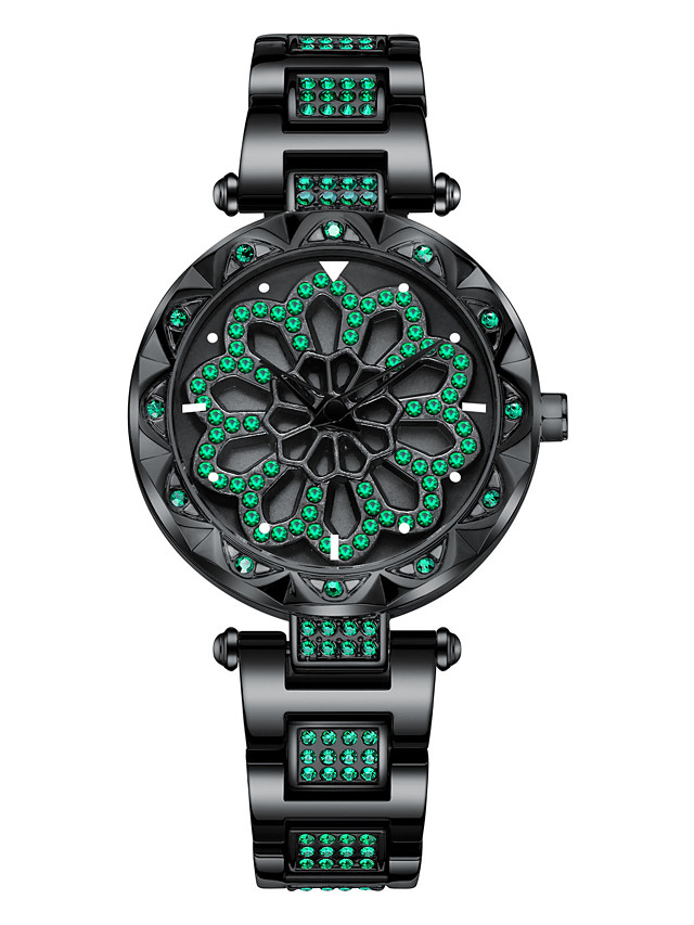 Women's Quartz Watches Quartz Stylish Fashion Water Resistant / Waterproof Analog Rose Gold Black Blue / One Year