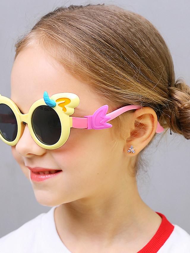 1pcs Kids Unisex Active / Sweet Cartoon Glasses Black / Blue / Red