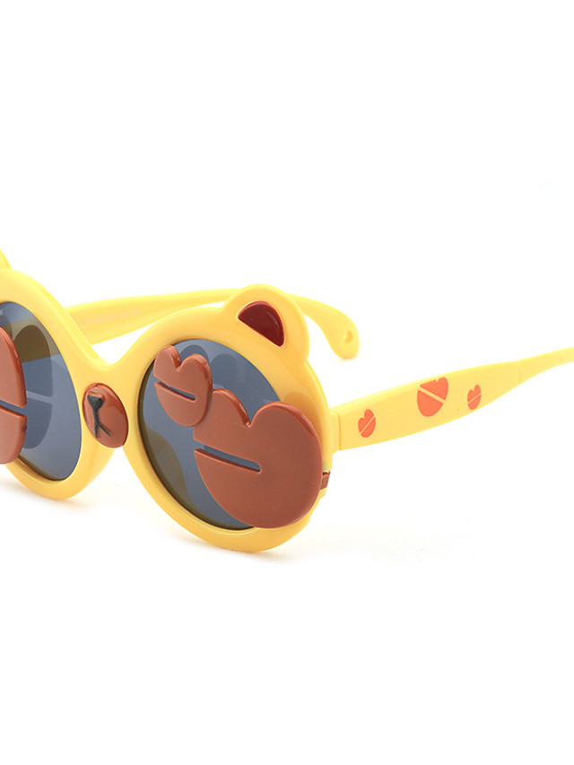 1pcs Kids Unisex Active / Sweet Cartoon Glasses Black / Blue / Purple
