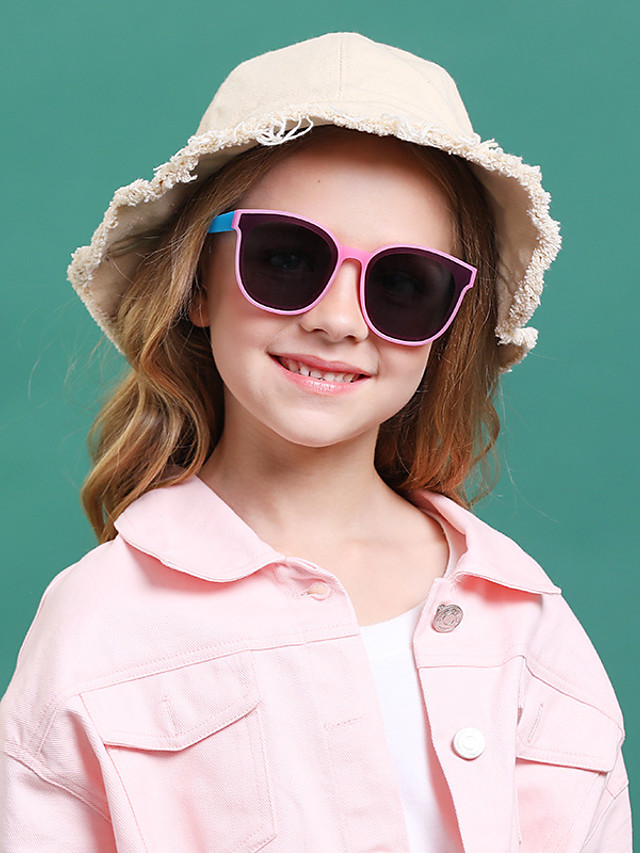 1pcs Kids / Toddler Unisex Active / Sweet Cartoon Glasses Black / Purple / Blushing Pink One-Size