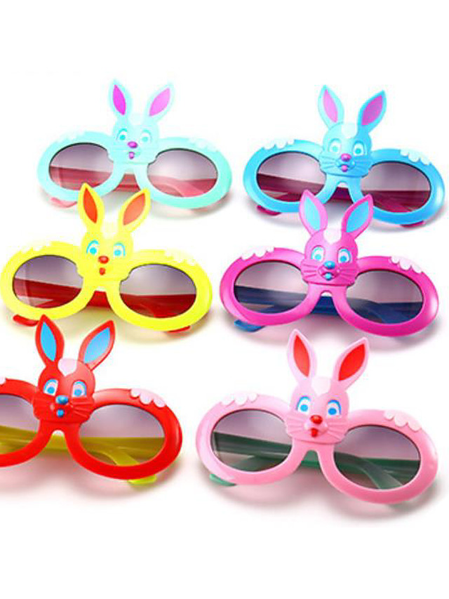 1pcs Kids Unisex Active / Sweet Cartoon Glasses Blue / Purple / Red One-Size