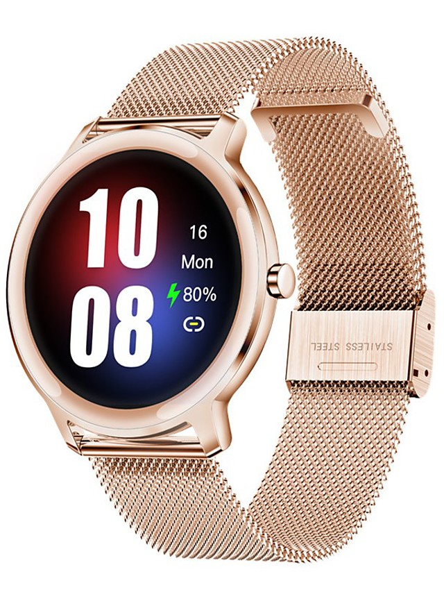 S06 Women's Smartwatch Bluetooth Heart Rate Monitor Blood Pressure Measurement Calories Burned Health Care Camera Control Stopwatch Pedometer Call Reminder Activity Tracker Sleep Tracker