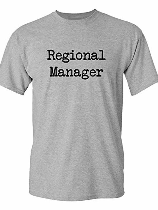 regional manager - men's t-shirt add-on (heather, men's add-on 3xl)