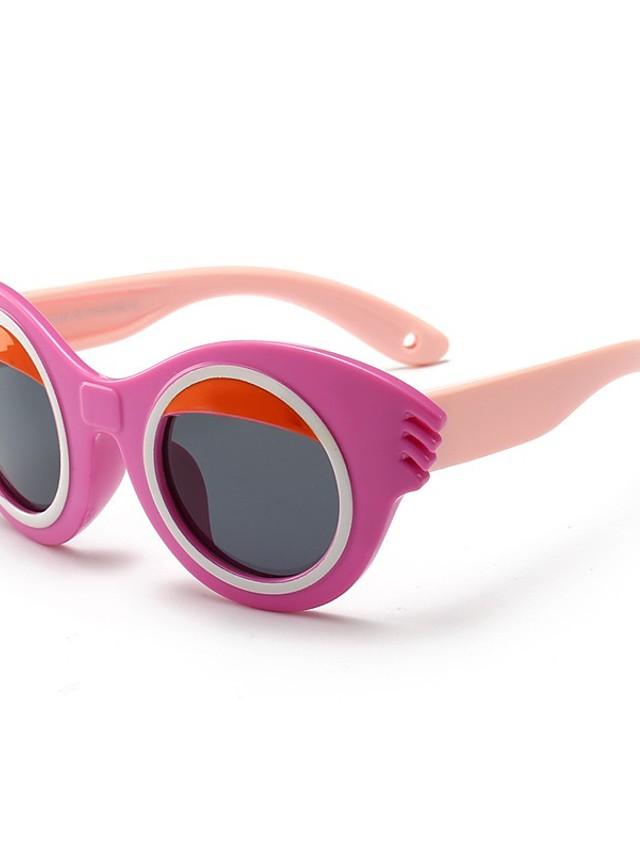 1pcs Kids / Toddler Unisex Active / Sweet Cartoon Glasses Black / Purple / Red