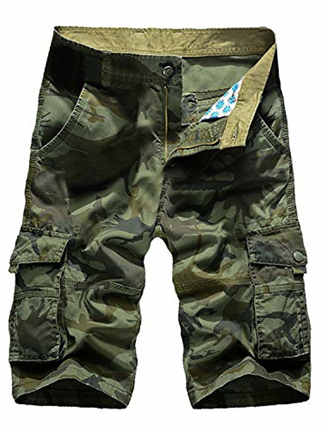 Ανδρικά σορτς camo Elibone καλοκαιρινές τσέπες με φερμουάρ παντελόνι καμουφλάζ φορτίο ρούχα streetwear bermuda masculina, 11,34