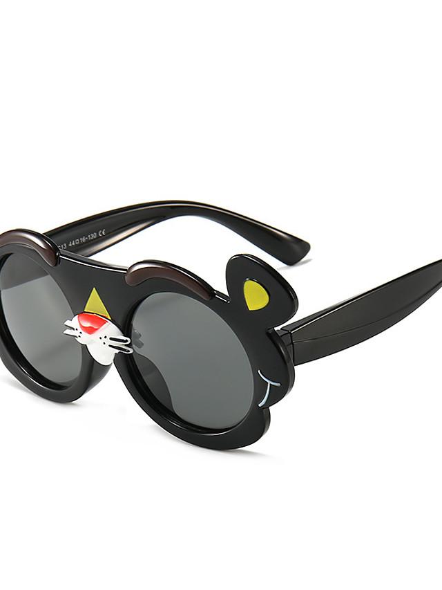 1pcs Kids Unisex Active / Sweet Cartoon Glasses Black / Blue / Red One-Size