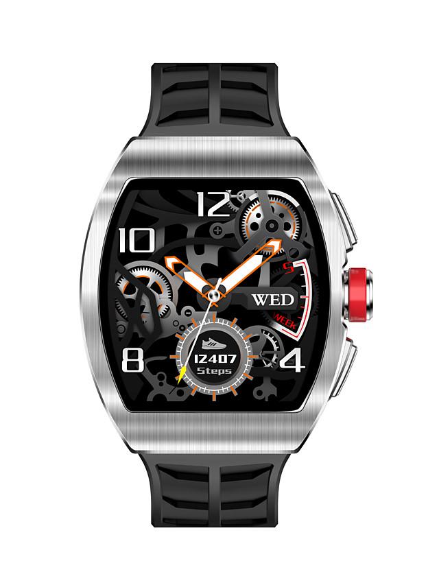 696 TK18 Men's Smartwatch Smart Wristbands Bluetooth Heart Rate Monitor Blood Pressure Measurement Calories Burned Hands-Free Calls Camera Control Pedometer Call Reminder Sleep Tracker