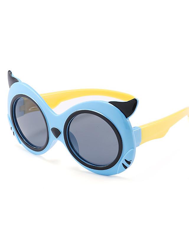 1pcs Kids Unisex Active / Sweet Cartoon Glasses Black / Blue / Yellow