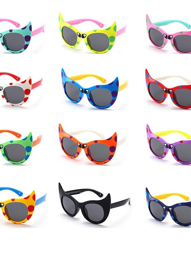 1pcs Kids Unisex Active / Sweet Cartoon Glasses White / Black / Blue