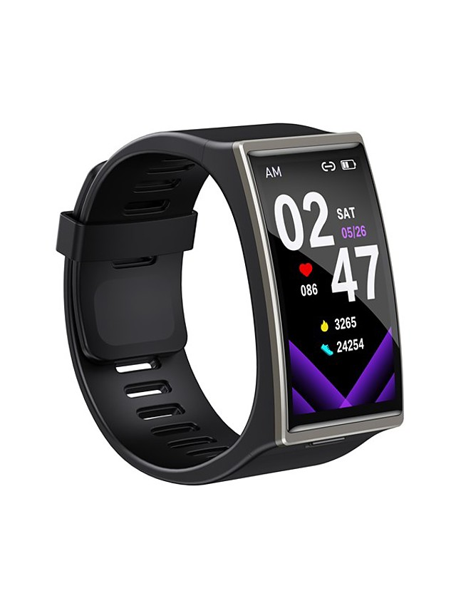 DM12 Unisex Smartwatch Bluetooth Heart Rate Monitor Blood Pressure Measurement Calories Burned Health Care Camera Control Stopwatch Pedometer Call Reminder Activity Tracker Sleep Tracker