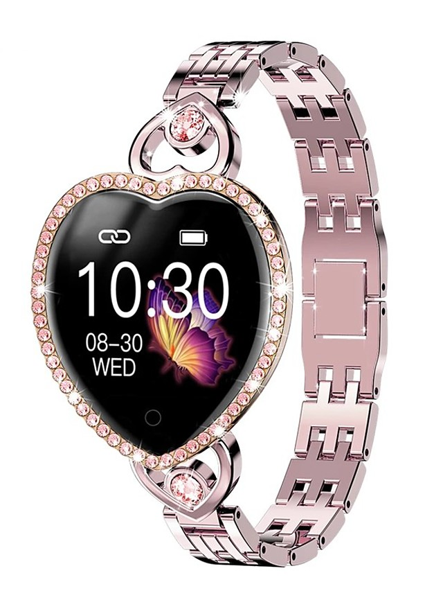 T52S Women's Smartwatch Bluetooth Heart Rate Monitor Blood Pressure Measurement Calories Burned Health Care Camera Control Stopwatch Pedometer Call Reminder Activity Tracker Sedentary Reminder