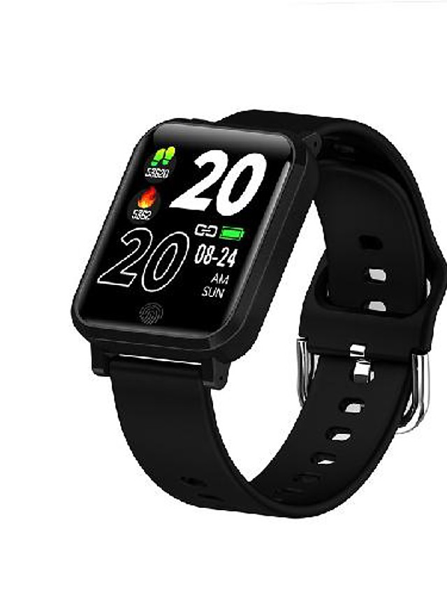 F29 Unisex Smartwatch Bluetooth Heart Rate Monitor Blood Pressure Measurement Sports Calories Burned Thermometer Stopwatch Pedometer Call Reminder Sleep Tracker Sedentary Reminder