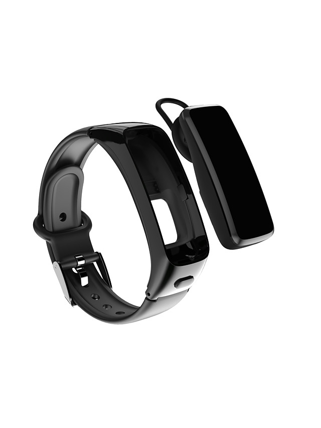 696 BY51 Unisex Smart Wristbands Bluetooth Blood Pressure Measurement Camera Distance Tracking Information Blood Oxygen Monitor Pedometer Sleep Tracker Find My Device Alarm Clock Exercise Reminder