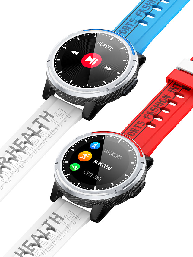 696 S26 Unisex Smartwatch Smart Wristbands Bluetooth Heart Rate Monitor Blood Pressure Measurement Hands-Free Calls Information Camera Control Pedometer Call Reminder Activity Tracker Sleep Tracker