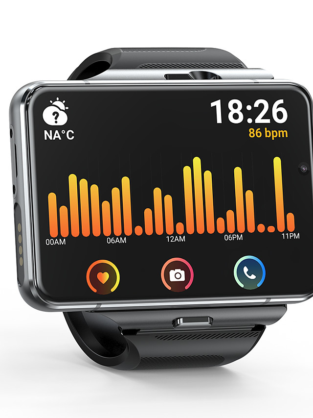 696 SW-APPLLP Unisex Smartwatch WIFI Bluetooth Calories Burned Hands-Free Calls Video Media Control Camera Stopwatch Call Reminder Activity Tracker Sedentary Reminder Alarm Clock