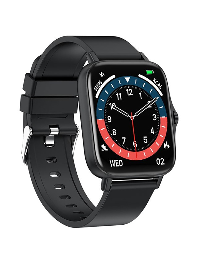 T42 Unisex Smartwatch Bluetooth Heart Rate Monitor Blood Pressure Measurement Calories Burned Media Control Health Care Timer Stopwatch Call Reminder Activity Tracker Sleep Tracker