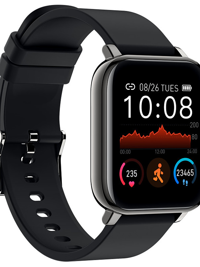 P25 Unisex Smart Wristbands Bluetooth Heart Rate Monitor Blood Pressure Measurement Sports Calories Burned Long Standby Pedometer Call Reminder Activity Tracker Sleep Tracker Sedentary Reminder