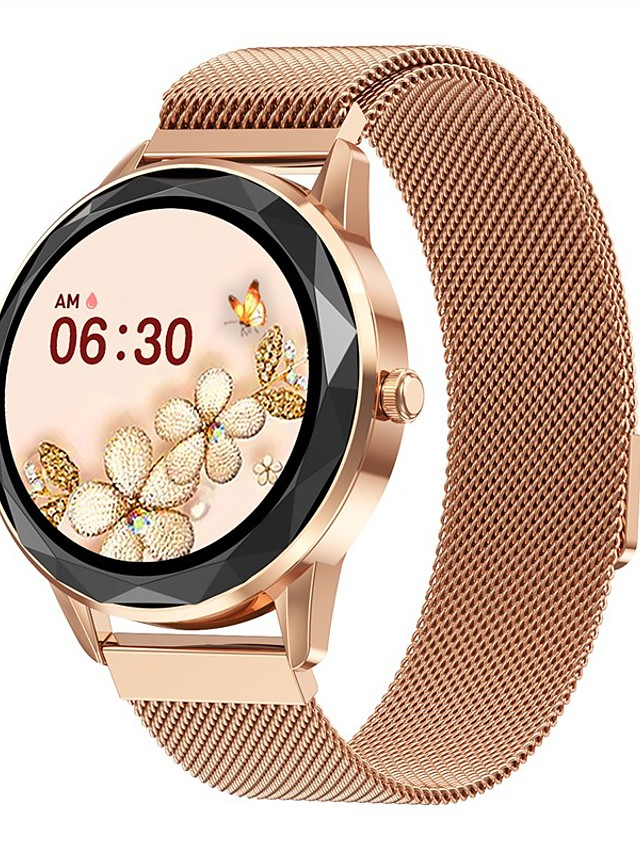 HDT7 Women's Smartwatch Bluetooth Heart Rate Monitor Blood Pressure Measurement Calories Burned Media Control Health Care Stopwatch Call Reminder Activity Tracker Sleep Tracker Sedentary Reminder