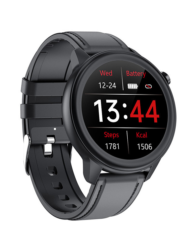 F81 Unisex Smartwatch Bluetooth Heart Rate Monitor Blood Pressure Measurement Calories Burned Thermometer Health Care Stopwatch Pedometer Call Reminder Activity Tracker Sleep Tracker