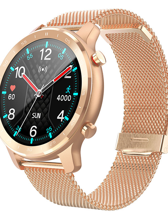 S30 Unisex Smartwatch Bluetooth Heart Rate Monitor Blood Pressure Measurement Calories Burned Health Care Information Stopwatch Pedometer Call Reminder Sleep Tracker Sedentary Reminder