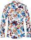 cheap Men's Shirts-Men's Shirt - Floral Floral Style / Long Sleeve