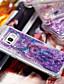 baratos Acessórios para Samsung-Capinha Para Samsung Galaxy S8 Plus / S8 / S7 edge Antichoque / Liquido Flutuante / Estampada Capa traseira Apanhador de Sonhos / Glitter Brilhante Macia TPU