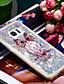 povoljno Maske za mobitele-Θήκη Za Samsung Galaxy S7 edge Otporno na trešnju / Šljokice Stražnja maska Sova / Šljokice Mekano TPU