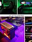 billiga LED-ljusslingor-led-strip-lampor usb med switchkontroll usb-kontakt tv-bakgrundsbelysning bar 5v light bar of multicolor 5050 smd 60led per meter