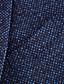 ราคาถูก สูท-สีน้ำเงินเข้ม / สีเทาเข้ม / สีดำ สีพื้น Standard Fit ขนสัตว์ผสม สูท - ปกกว้าง กระดุมสองเม็ดเรียงแถวเดียว