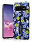 ราคาถูก เคสสำหรับโทรศัพท์มือถือ-Case สำหรับ Samsung Galaxy Galaxy S10 / Galaxy S10 Plus Pattern ปกหลัง ดอกไม้ Soft TPU