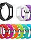 זול להקות Smartwatch-סיליקון רצועת הלהקה הלהקה עבור הקוטב a360 a370 שעון חכם החלפת צמיד רך watchband חגורה לצפות צמיד אביזר