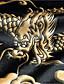 Χαμηλού Κόστους Πουκάμισα-Ανδρικά Πουκάμισο Κινεζικό στυλ Ζώο Μαύρο