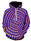 billige Hettegensere og gensere til herrer-Herre Fritid Hattetrøje 3D