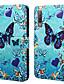 billige Samsung-tilbehør-Etui Til Samsung Galaxy Galaxy A7(2018) / Galaxy A30 (2019) / Galaxy A50 (2019) Lommebok / Kortholder / Støtsikker Heldekkende etui Tegneserie Hard PU Leather / TPU