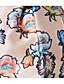 billige Blomsterpikekjoler-Prinsesse Knelang Blomsterpikekjole - Polyester Ermeløs Besmykket med Sløyfe(r) / Mønster / trykk