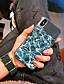 baratos Capinhas para iPhone-Capinha Para Apple iPhone XS / iPhone XR / iPhone XS Max Anti-poeira / Espelho / Estampada Capa traseira Linhas / Ondas TPU