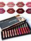 billige Lipgloss-bestselgende matte flytende leppestift sett 12 farger sexy fuktighetsgivende lip gloss kvinnelig sminke