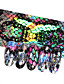 Χαμηλού Κόστους φύλλο Χαρτί-16pcs σχεδιασμός φιδιών ονύχων ολογραφικών ομοιόμορφα αστεριών αυτοκόλλητων ετικεττών 20 * 4cm αυτοκόλλητων ετικετών νυχιών για μανικιούρ