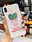 baratos Capinhas para iPhone-Capinha Para Apple iPhone XS / iPhone XR / iPhone XS Max Anti-poeira / Com Suporte / IMD Capa traseira Palavra / Frase / Desenho Animado silica Gel