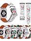 baratos Bandas de Smartwatch-Pulseiras de Relógio para Apple Watch Series 5/4/3/2/1 Apple Fecho Clássico Couro Legitimo Tira de Pulso