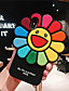 cheap iPhone Cases-Case For Apple iPhone XS Max / iPhone X Soft silicone Shockproof Apple protective shell Cartoon TPU Pattern Pouch Bag Flower Soft Plastics for iPhone 6 / iPhone 6s Plus / iPhone 8