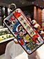 baratos Capinhas para iPhone-Capinha Para Apple iPhone XS / iPhone XR / iPhone XS Max Anti-poeira / Com Suporte / Estampada Capa traseira Palavra / Frase / Desenho Animado silica Gel