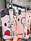 baratos Capinhas para iPhone-Capinha Para Apple iPhone XS / iPhone XR / iPhone XS Max Estampada Capa traseira Desenho Animado TPU