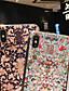 baratos Capinhas para iPhone-Capinha Para Apple iPhone XS / iPhone XR / iPhone XS Max Antichoque / Anti-poeira / Estampada Capa traseira Flor PC