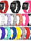 baratos Bandas de Smartwatch-Pulseiras de Relógio para Fitbit Versa / Fitbit Versa Lite Fitbit Pulseira Esportiva Silicone Tira de Pulso