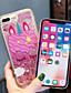 olcso iPhone tokok-Case Kompatibilitás Apple iPhone 11 / iPhone 11 Pro / iPhone 11 Pro Max Folyékony / Minta / Csillogó Fekete tok Rajzfilm / Virág TPU